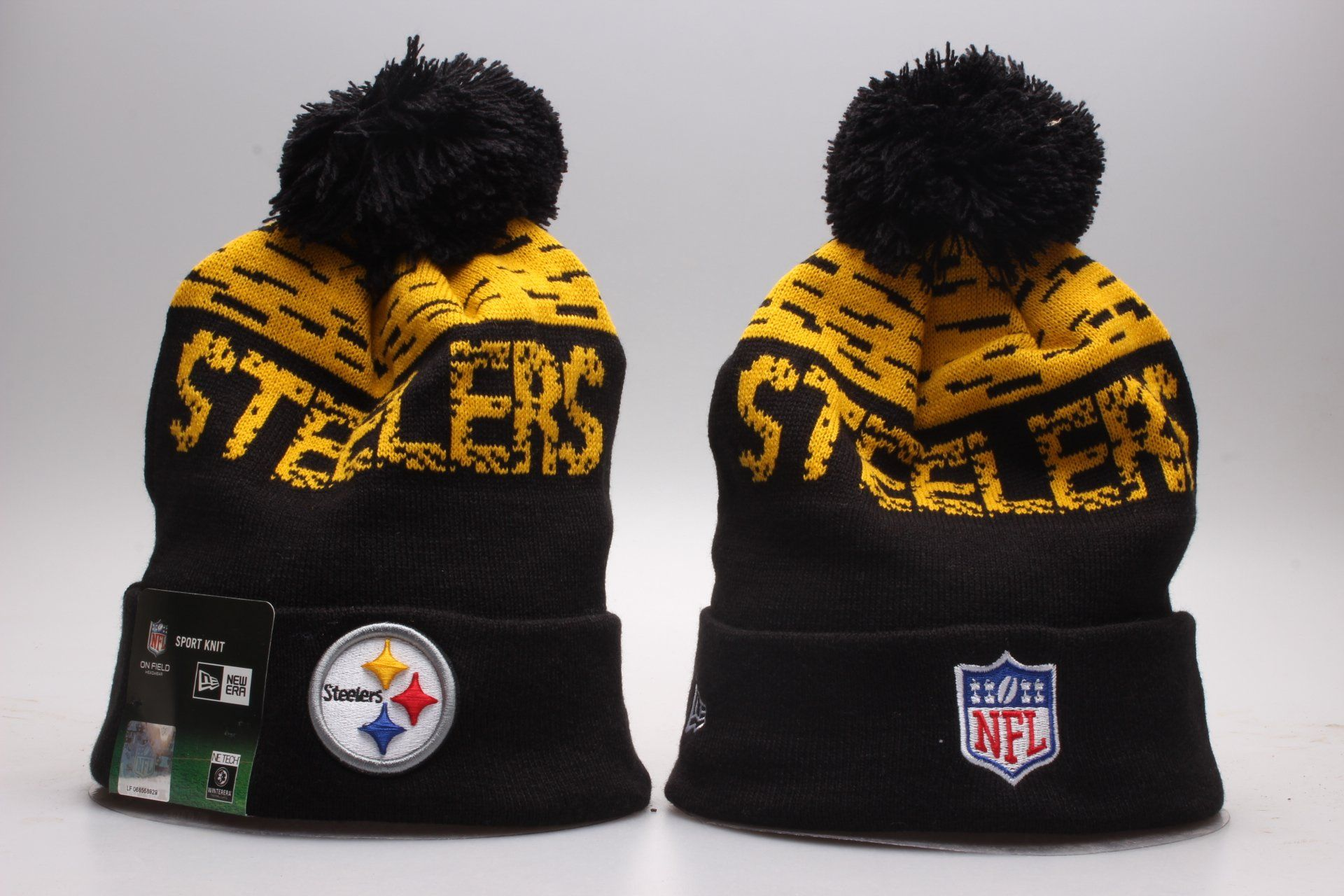 561249e5a38 Pitssburgh Steelers Beanie Pittsburgh Steelers Hats
