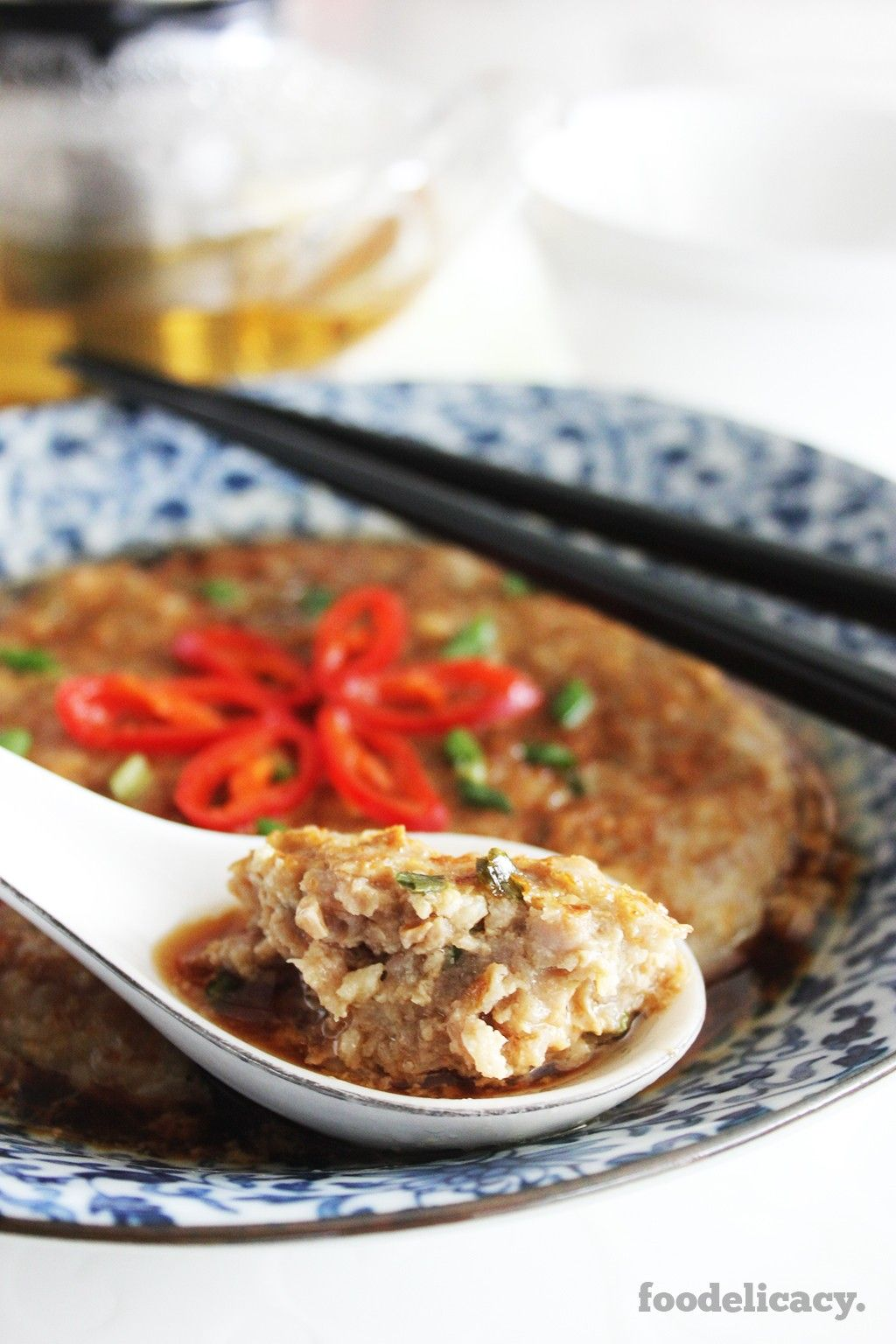 A simple healthy chinese home recipe for steamed minced pork and a simple healthy chinese home recipe for steamed minced pork and water chestnut that is forumfinder Gallery