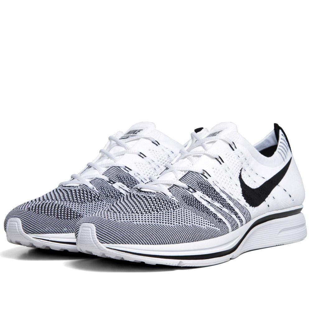 Nike Flyknit Trainer+ (White & Black)