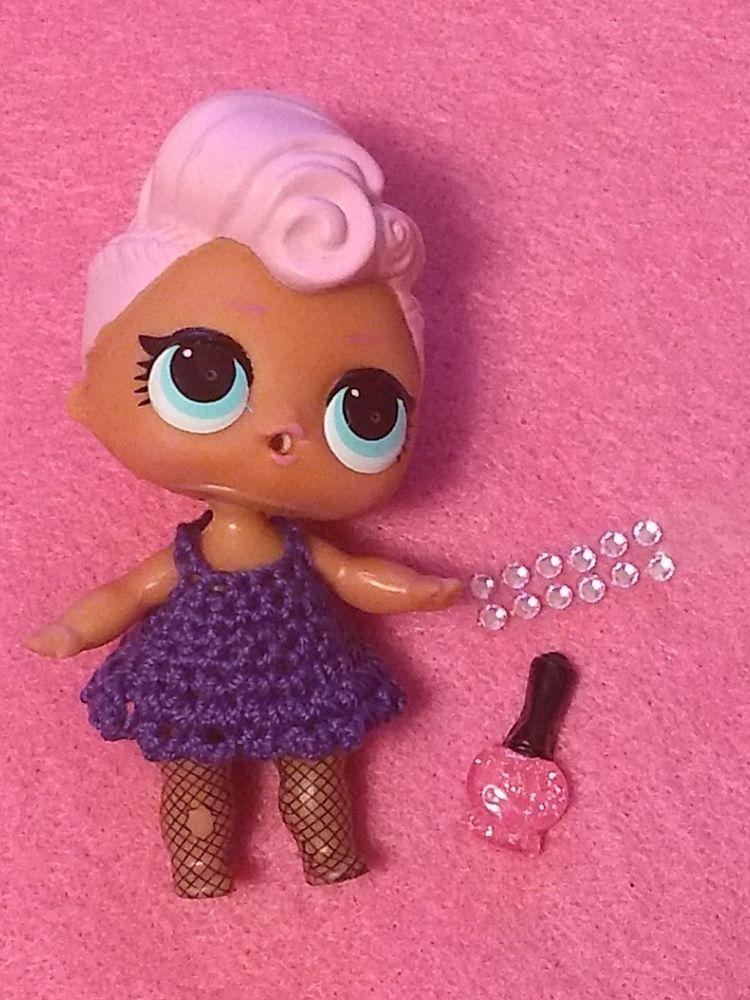 LOL SURPRISE DOLL Grunge Grrrl Girl 23 Pregnant Doll  Confetti Pop Series 3