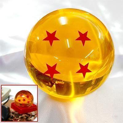 Amazon Com Qiyun Acrylic Dragonball Replica Ball Large 4 Stars