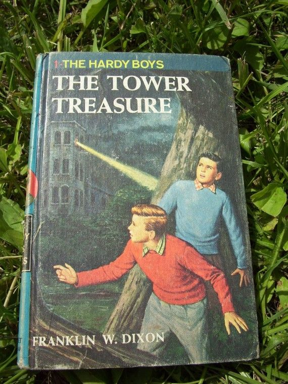 Vintage The Hardy Boys Book  The Tower Treasure by mrsbatty
