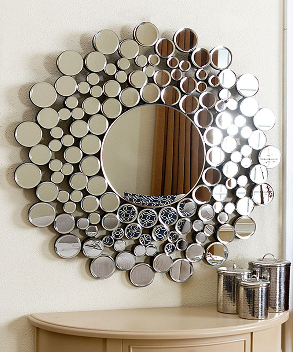 Look at this zulilyfind buchon round bubble wall mirror by buchon round bubble wall mirror by abbyson living zulilyfinds amipublicfo Image collections