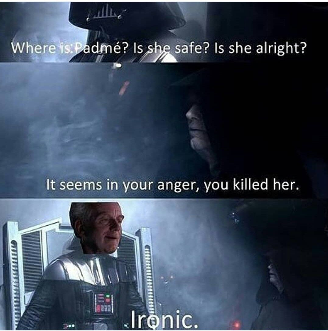 Ironic Funny Star Wars Memes Star Wars Humor Star Wars Jokes