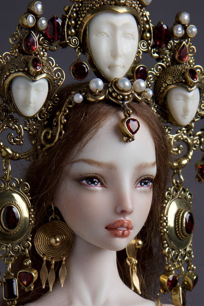 creepily realistic nsfw porcelain dolls by russian artist
