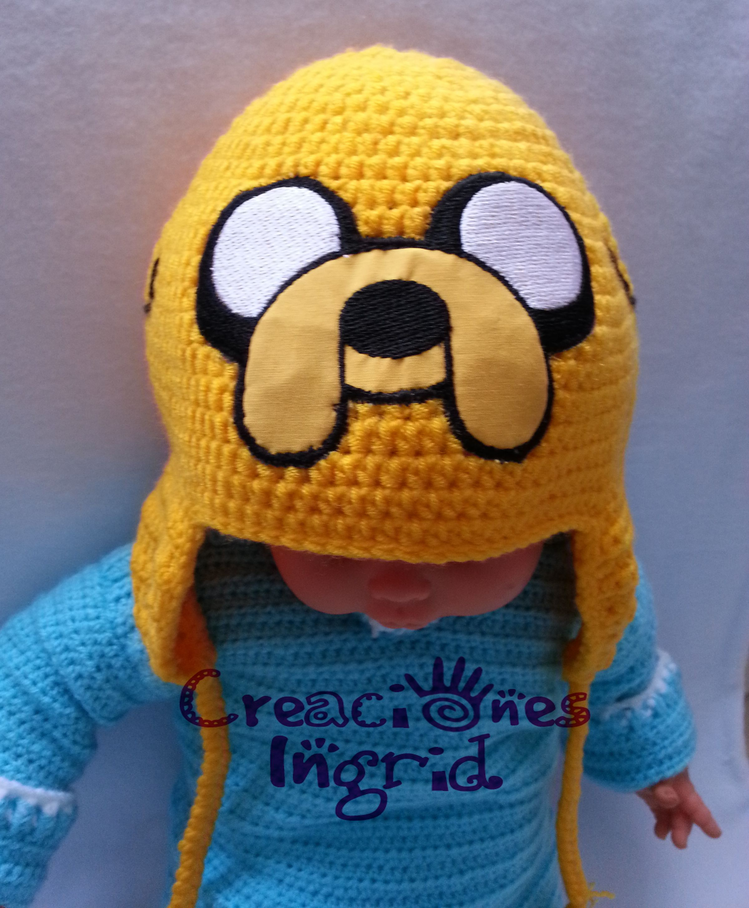Gorro Jake el Perro / Jake the Dog Hat | crochet hora de aventura ...