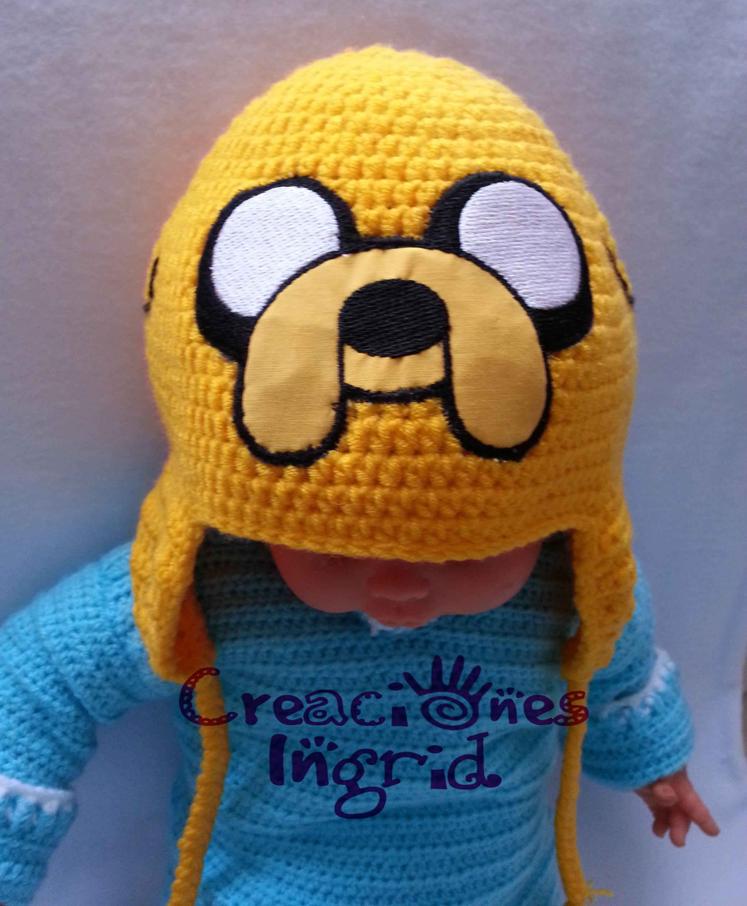 Gorro Jake el Perro / Jake the Dog Hat | Crochet Hats / Gorros en ...