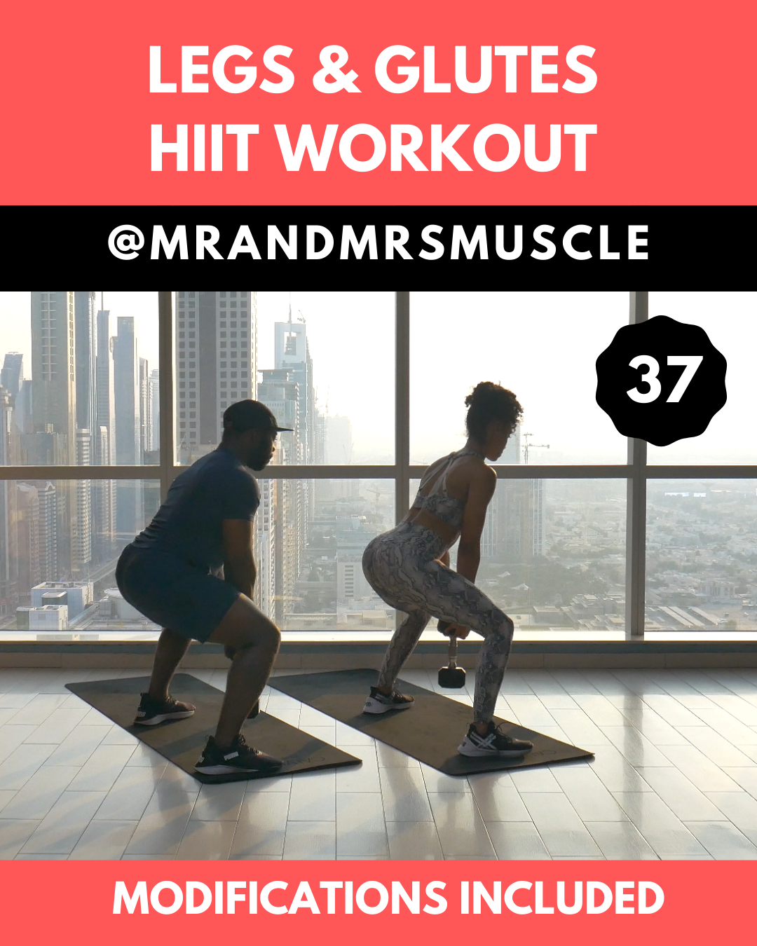 Photo of Leg & Glutes HIIT Workout