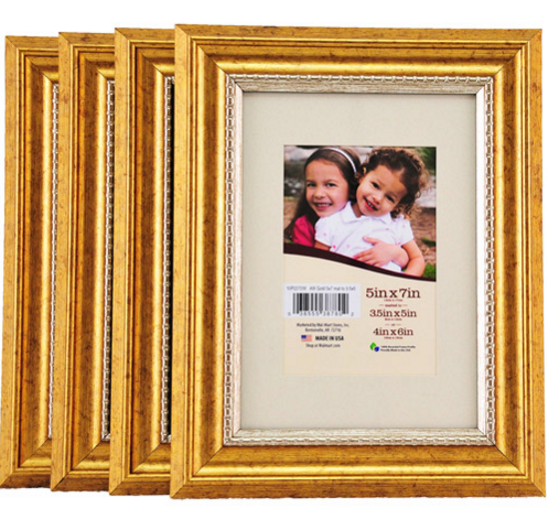 5 7 Picture Frames Bulk Photo Frame With The Completion Of A Perfect Antique Looking Gold Color And Lux Gold Picture Frames Picture Frames Cute Picture Frames