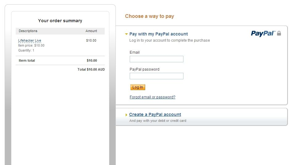 Easily connect google forms to paypal google forms