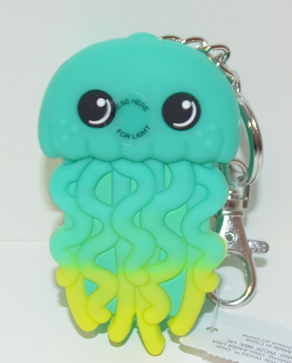 Bath Body Works Jellyfish Light Up Pocketbac Holder Hand Sanitizer