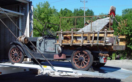 1921 oldsmobile truck for Garage volkswagen munster
