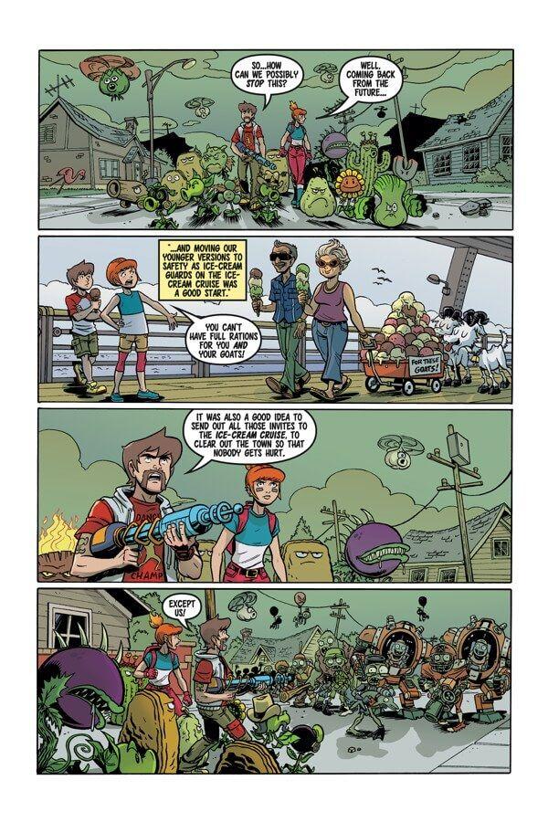 Preview: Plants Vs. Zombies: Garden Warfare #2, Plants Vs. Zombies ...