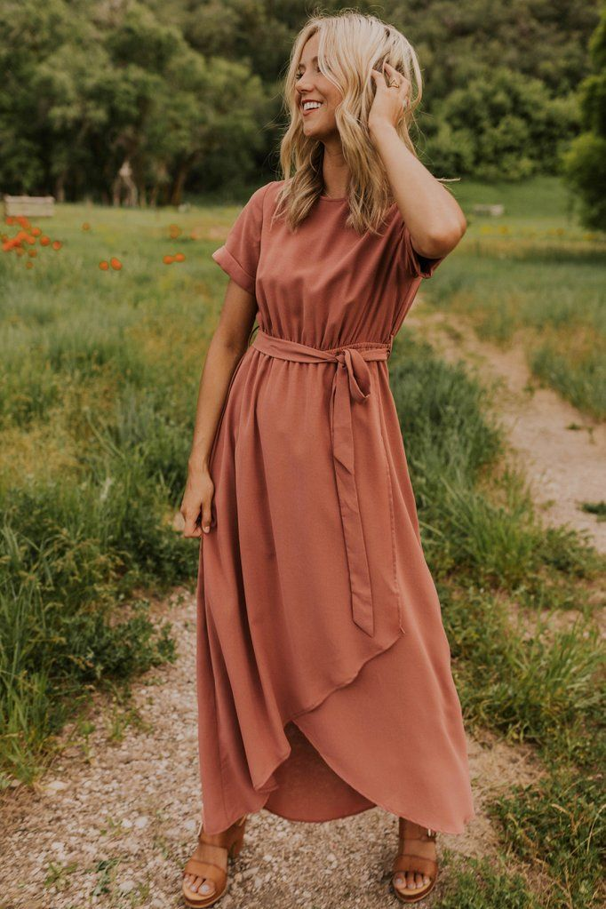Taylor Jane Wrap Maxi #modestfashion