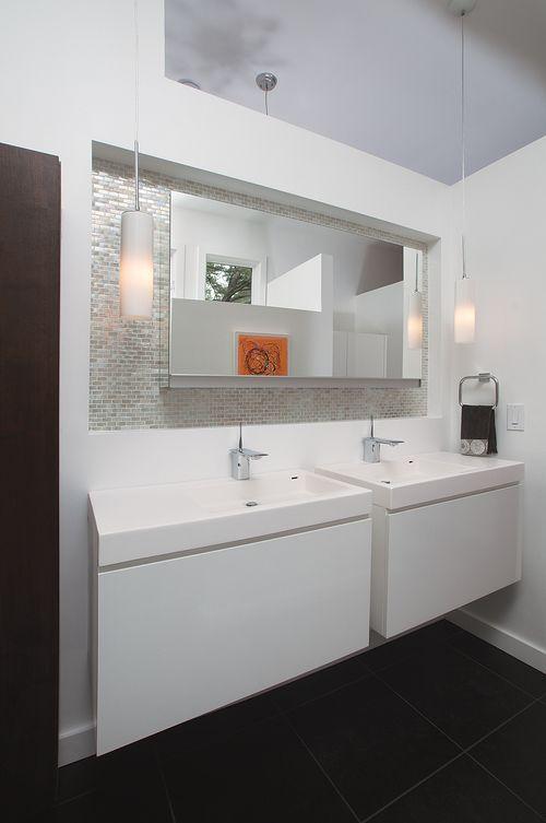 Burns Century Modern Designer Artist Mid Century Modern Bathroom