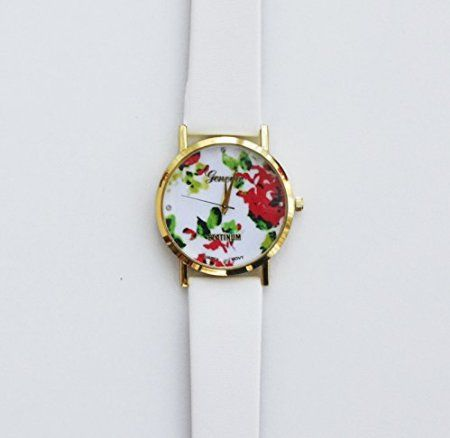 Amazon.com: Thanks For Being My Unibiological Sister Card Gift Floral Girl Wristwatch Fashion Rose Flower Woman Watch