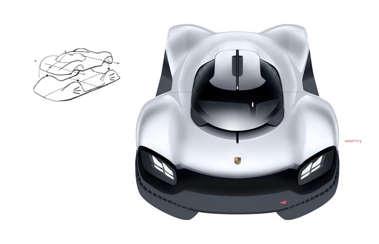 Edward Tseng Porsche 920 Automotive Design Car Design Sketch Concept Car Sketch