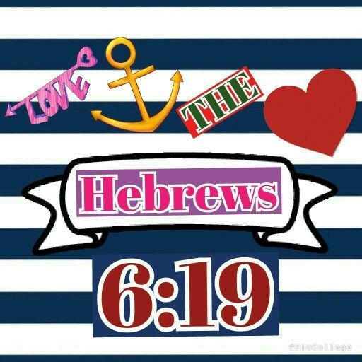 """""""Which hope we have as an anchor of the soul, both sure and stedfast, which we enereth into that within the veil. Hebrews 6:19 LOVE ANCHORS THE SOUL :) :) :)"""