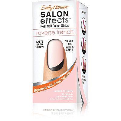 Sally HansenSalon Effects Reverse French Manicure Strips