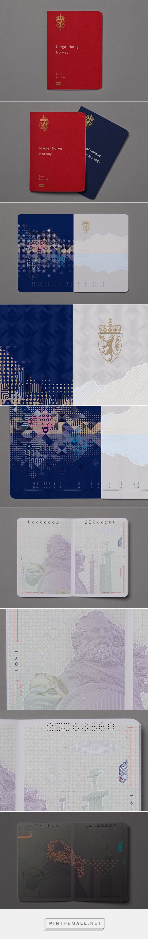 Design Proposal For NorwayS New Passport By