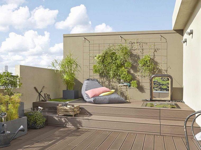 Arredare terrazzo appartamento soluzione moderna terrazze e