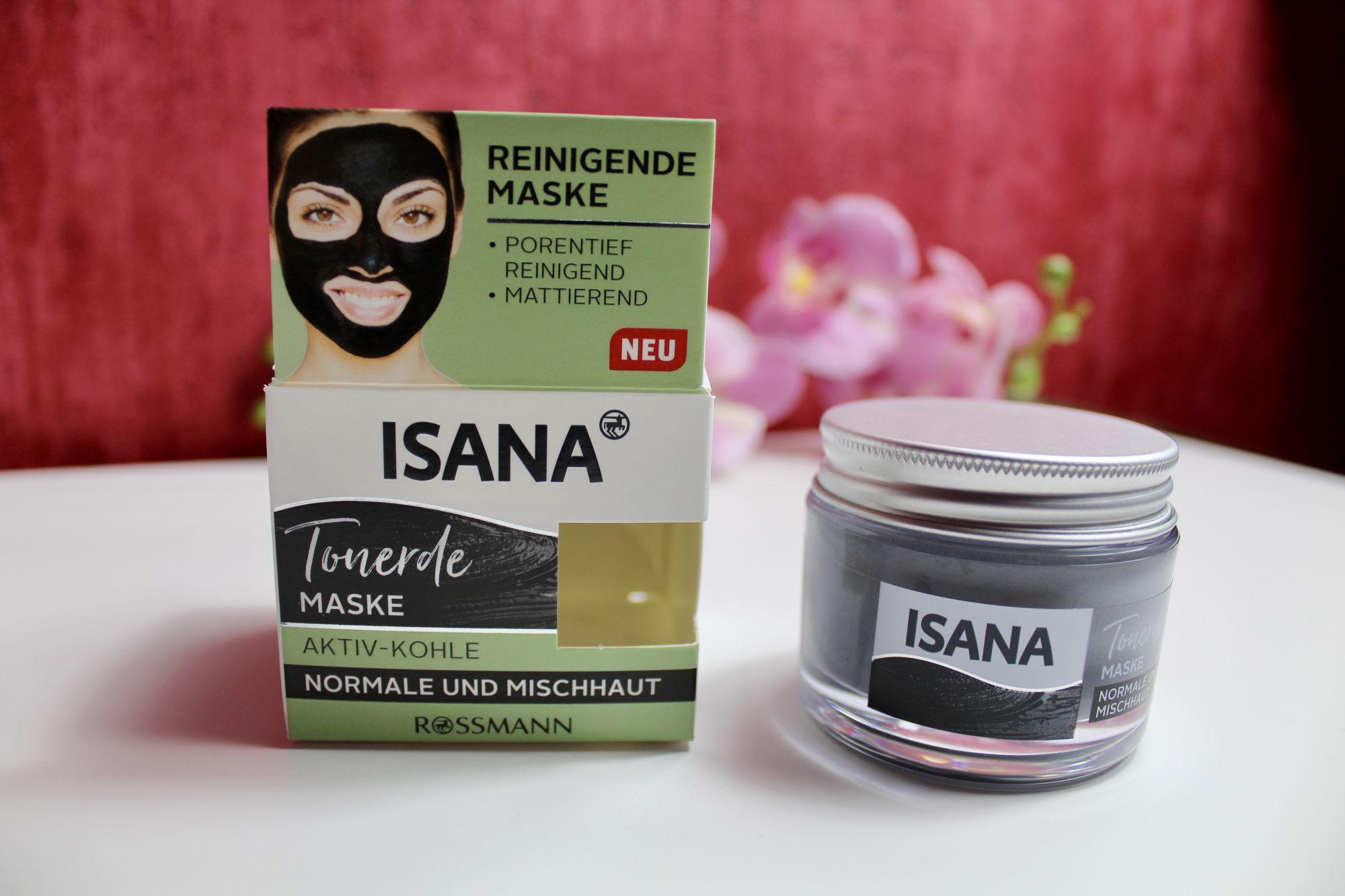 vor einiger zeit habe ich mir die neue tonerde maske mit aktivkohle von isana gekauft ich. Black Bedroom Furniture Sets. Home Design Ideas