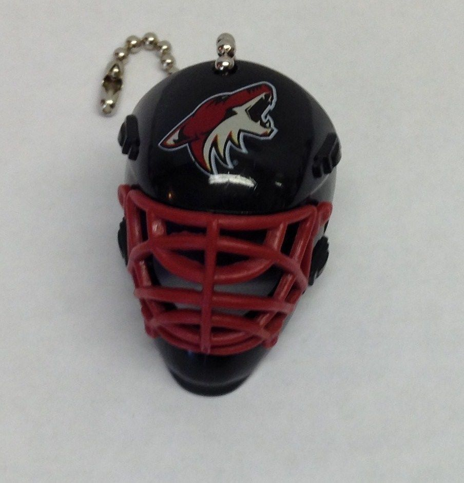 Arizona coyotes face mask helmet ceiling fanlight and
