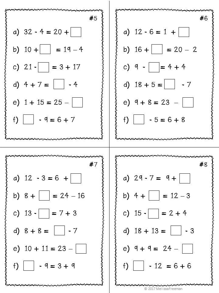 This Expressions Equality Unit For Third Grade Contains Lesson Ideas Worksheets Activities T Math Expressions Math Worksheets Kindergarten Math Worksheets