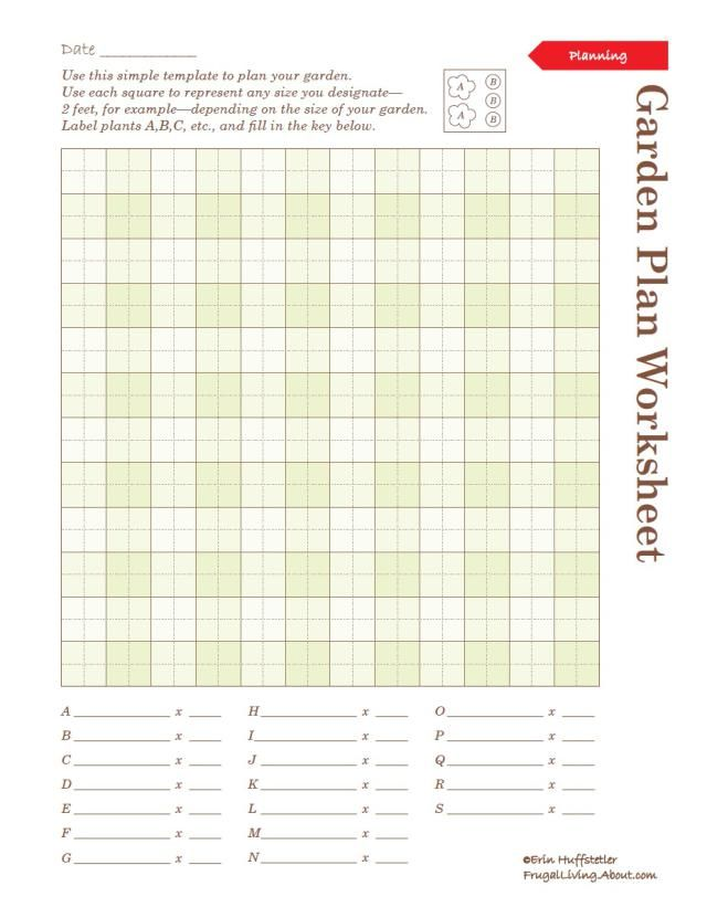 photograph about Free Printable Garden Planner known as Seek the services of These types of Printable Backyard Laptop Sheets towards Set up Your
