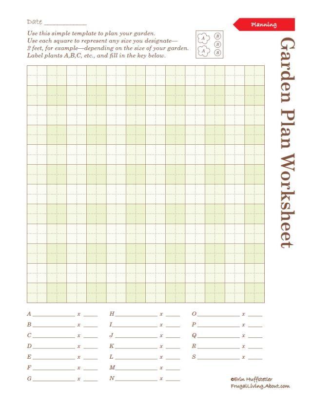Print This Free Garden Planner   Garden planner, Free printable ...