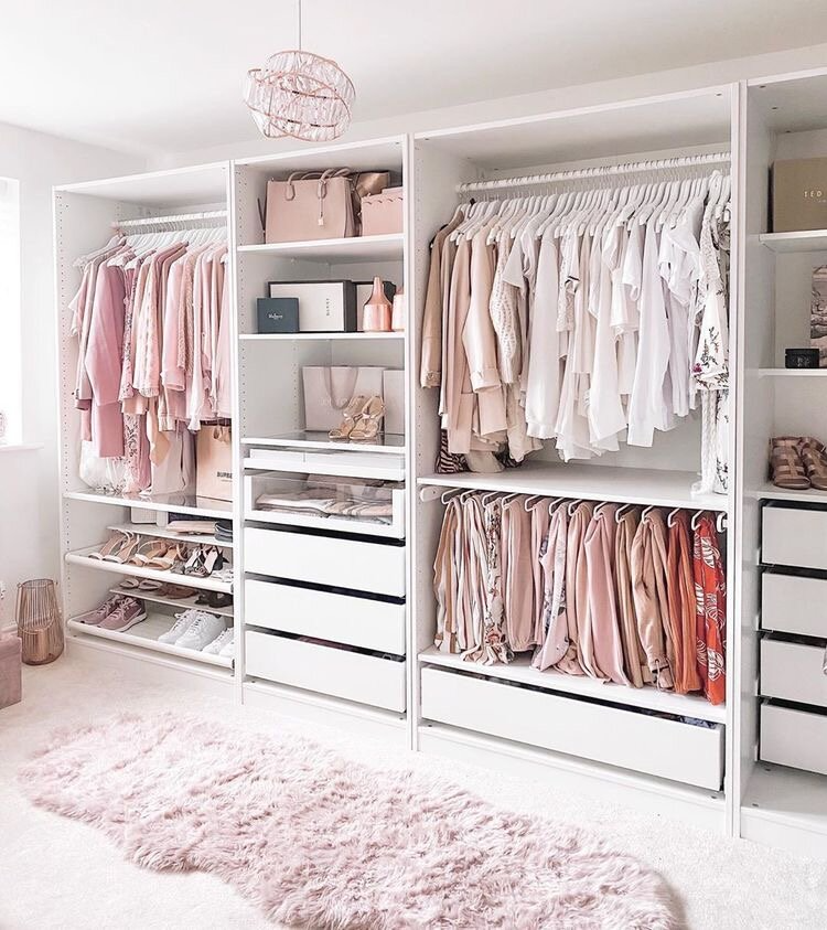 DIYing The Walk-In Closet of My Dreams with the IKEA Pax System