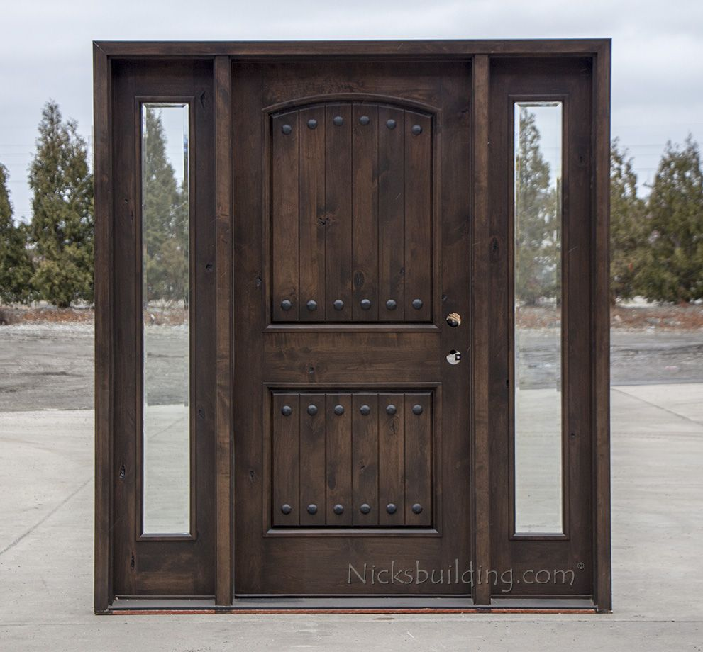 Exterior Doors With Sidelights Wholesale Clearance Wood Doors Breckenridge Home Pinterest