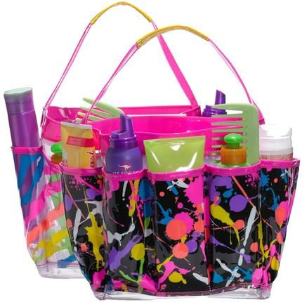 75c85da53790a Three Cheers for Girls summer camp shower caddy tote for summer camp ...