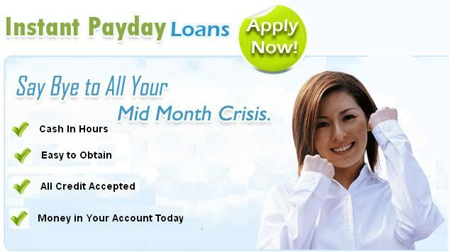 Apply for Instant Payday Loans with Bad Credit from any ...