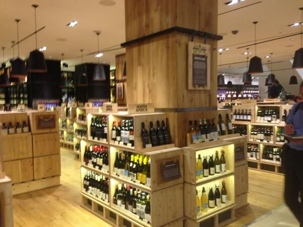 e162e6421876 We re liking the new Selfridges wine shop a lot. Even better because it has  Riedel glasses and decanters!