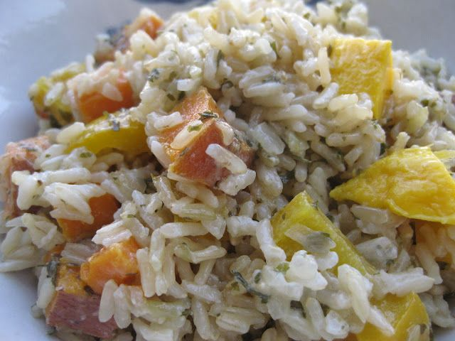 Tropical Coconut Lime Baked Rice