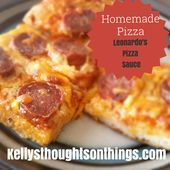 Making Our Own Pizza with Leonardos Pizza Sauce Making Our Own Pizza with Leonardos Pizza Sauce