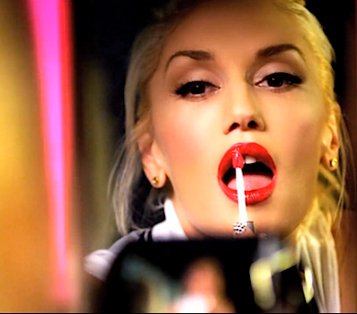 "How To Get Gwen Stefani's Hairstyle/Makeup Look From Her Newest Video For ""Settle Down"" -- Her Signiture Red Lips And Blonde Hair All From L'Oréal Paris"