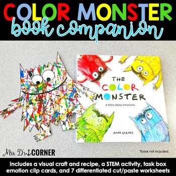 Color Monster Book Youtube Design