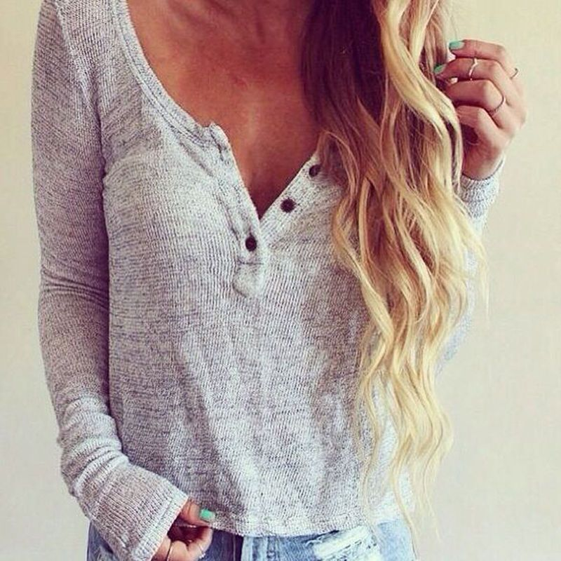 Casual Women Long Sleeve Knitted Sweater Loose Cardigan Tops Outwear Coat CD