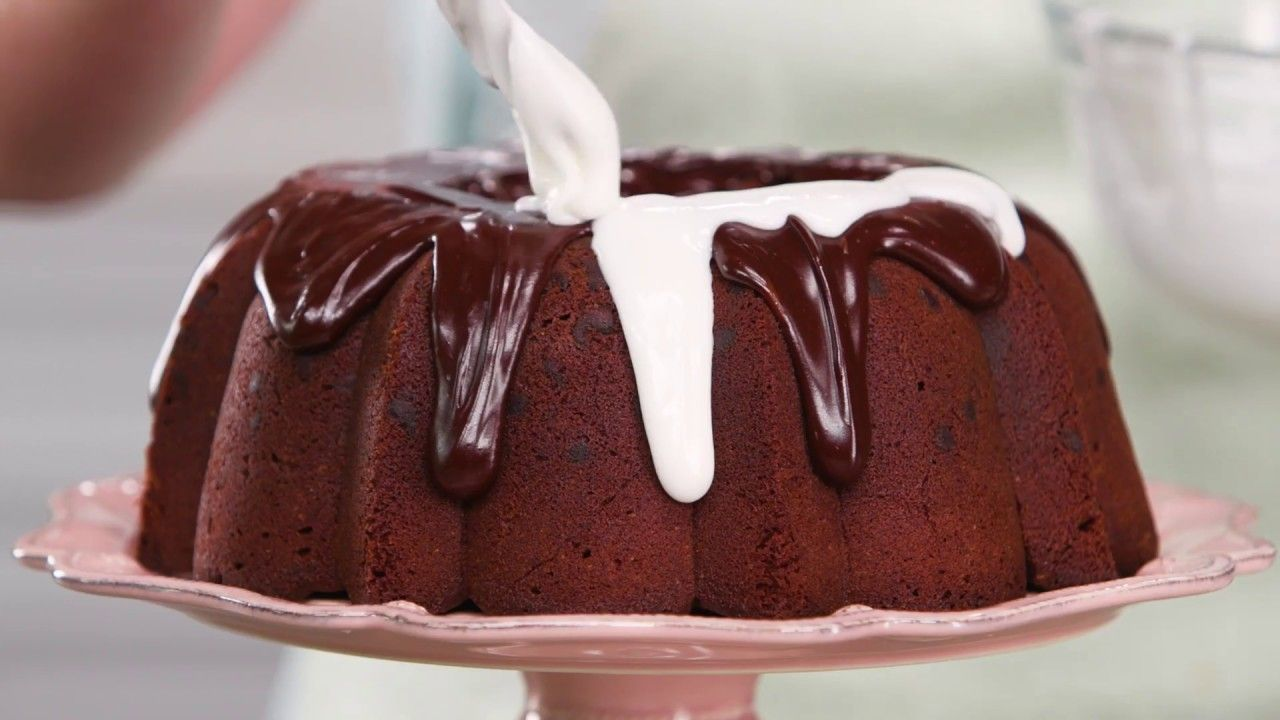 Triple Chocolate Buttermilk Pound Cake Southern Living Buttermilk Pound Cake Snack Cake Cupcake Cakes