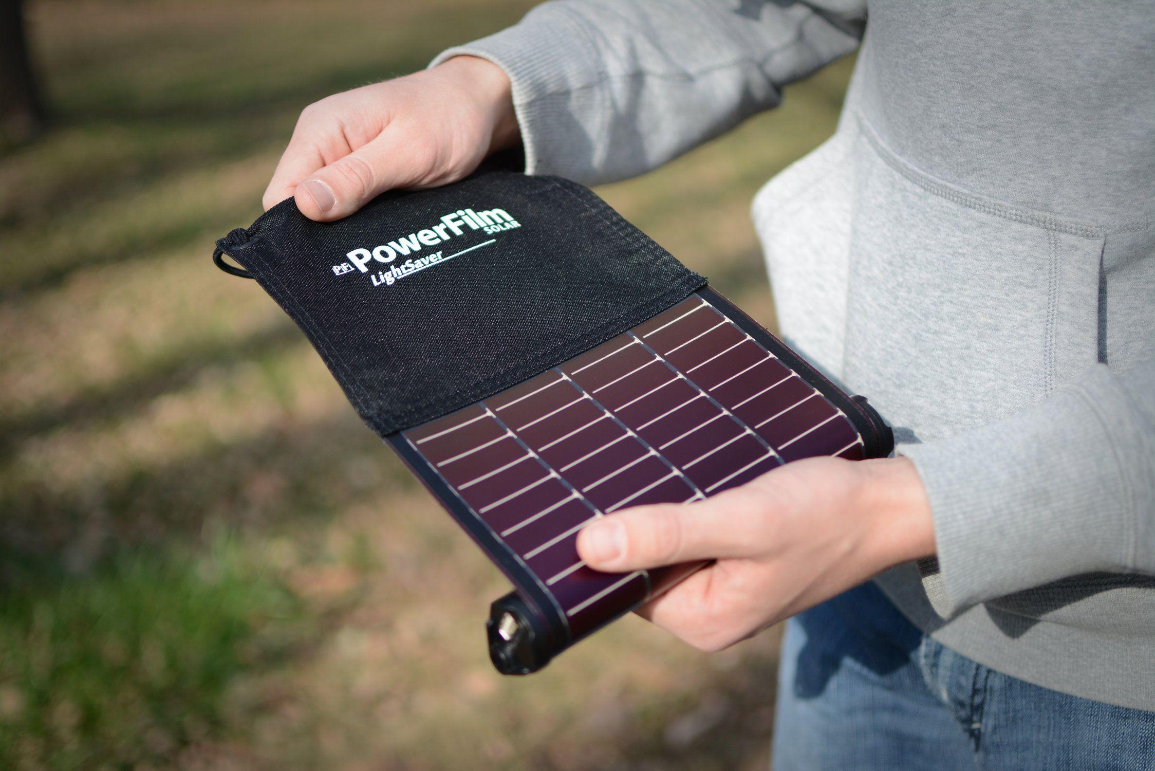 Powerfilm Lightweight Thin Flexible Solar Panels Flexible Solar Panels Solar Charger Portable Solar Energy Panels