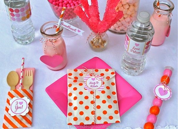 Valentines Party and Printables | Party ideas | Pinterest ...