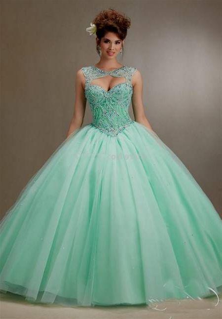 Mint green quinceanera dresses 2018 images