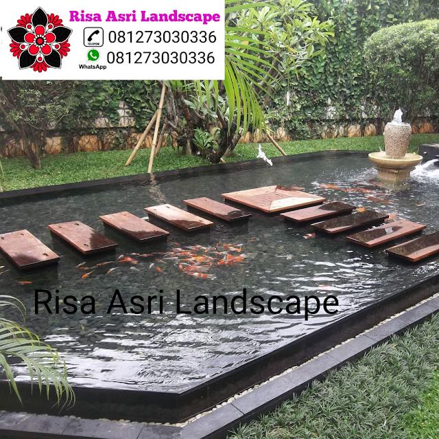Risa Asri Jasa Tukang Taman Surabaya Kolam Pertamanan Taman