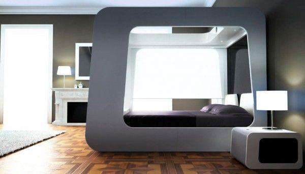 Hi Can Bed Modern Bedroom Decor Furniture Design Modern