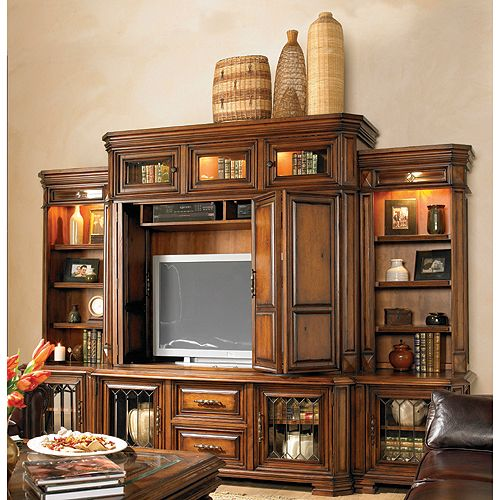 Page Rc Willey: Aspen 6 Piece Entertainment Center