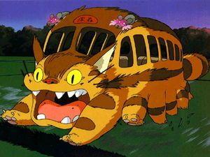 ジブリ 歴代どうぶつキャラクター かわいい名脇役 ジブリ ネコバス イラスト ネコバス