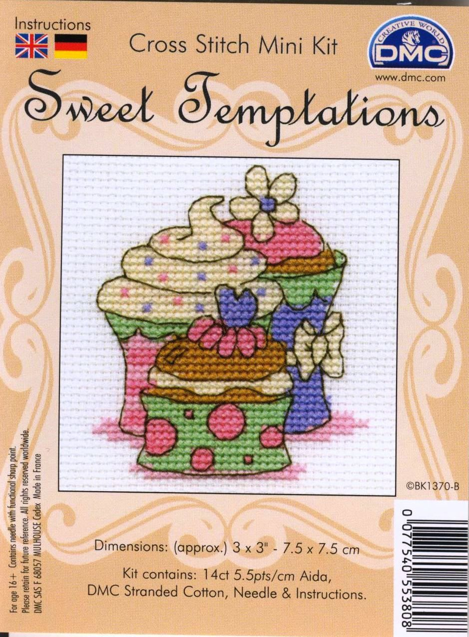 SWEET TEMPTATIONS | cross stitch | Pinterest | Kreuzstich