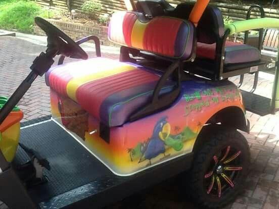 Jimmy Buffett's Margaritaville Golf Cart! | Carts Gone ...  |Margaritaville Golf Cart Craigslist
